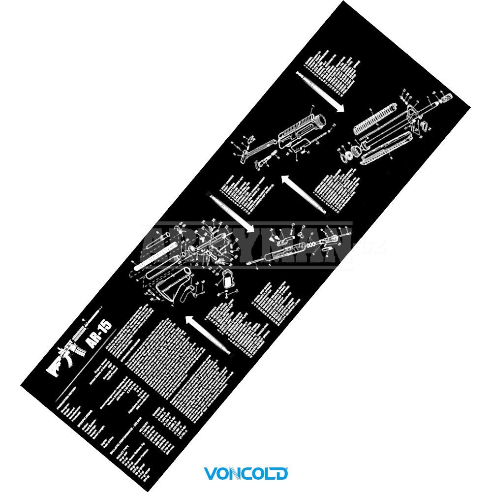 voncold-pad-ar-15-cistici-gumova-podlozk