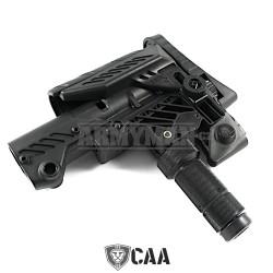 CAA Multi Position Sniper Stock CAA-SRS, pažba, armádní černá