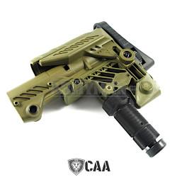 CAA Multi Position Sniper Stock CAA-SRS, pažba, armádní zelená