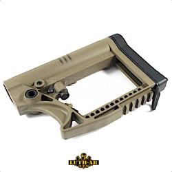 Luth-AR MBA-4 AR-15 Modular, pažba armádní pouštní