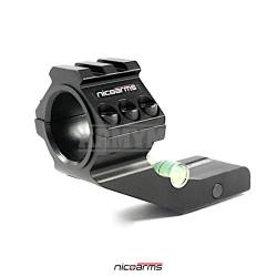 NICOARMS RFS-20 Offset montáž, černá