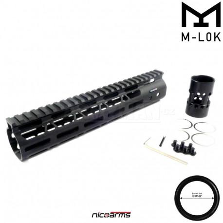 "NICOARMS MHAS-10, 10"",25.5cm Předpažbí Slim M-lok"
