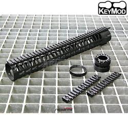 """NICOARMS SHAS-15, 15"""",37.5cm Předpažbí KeyMod"""