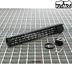 """NICOARMS DPMS-14.7, 14.7"""",37.5cm Předpažbí KeyMod"""
