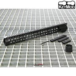 """NICOARMS SDAS-17, 17"""",43cm Předpažbí Slim KeyMod"""