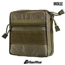 Ramwear Pocket-Bag-416, transport pocket for documents, army classic camouflage