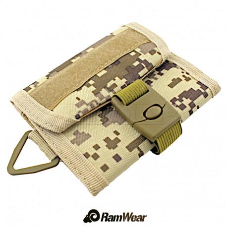Ramwear Pocket-sport-501, sportovní-peněženka, armádní desert digital