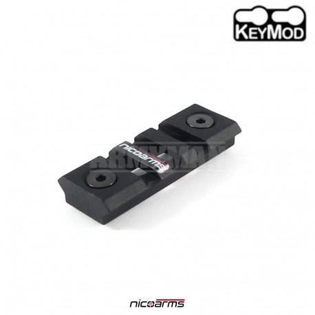 NICOARMS RAK7416 hliníková lišta Keymod 54 x 21 mm