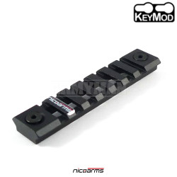 NICOARMS RAK7414 hliníková lišta Keymod 94 x 21 mm