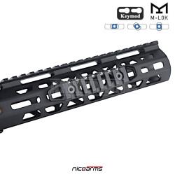 NICOARMS SPLIT-7Slot hliníková lišta Keymod / M-LOK 105 x 21 mm
