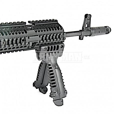 AK74/47 SET III - předpažbí, bipod