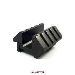 NICOARMS RA5522 Úhlový rail adaptér 2x45°