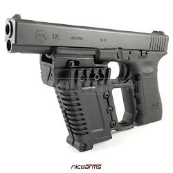 NICOARMS GL-LOADING KIT-20, taktická rukojeť , černá, nylon