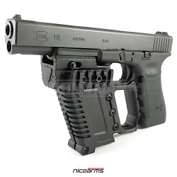 NICOARMS T-Front RR-123, tactical handle, black, nylon