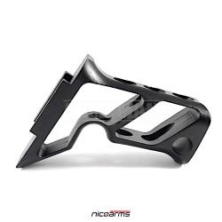 NICOARMS FORBLACK-R614, taktická rukojeť , černá, slitina hliníku