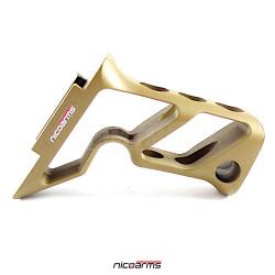 NICOARMS FORDESERT-R615, taktická rukojeť , pouštní, slitina hliníku