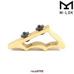 NICOARMS GOLDMLOK-TR811, taktická rukojeť , červená, slitina hliníku