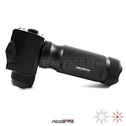 NICOARMS S-Flashhand GR1000, taktická rukojeť , černá, slitina hliníku