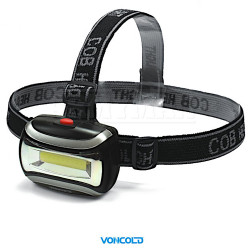VONCOLD HEADSTORM-501 COB LED taktická čelová svítilna