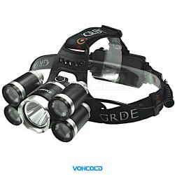 VONCOLD HEADFORCE-2001 XM-L T6 LED taktická čelová svítilna