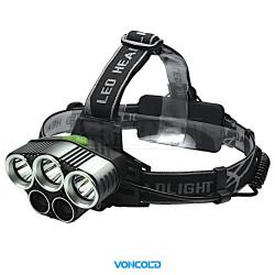 VONCOLD HEADBLUE-600 XM-L T6 LED taktická čelová svítilna