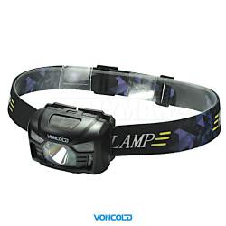 VONCOLD HEADSONSOR-66 XPE LED taktická čelová svítilna