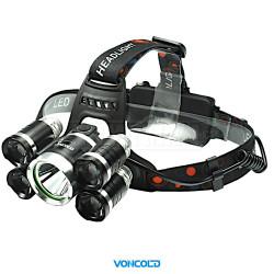 VONCOLD HEADFORCE-2003 XM-L T6 + 4x X-PE LED taktická čelová svítilna