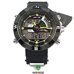 WEIDE 1104 žluté, pánské hodinky pro denní nošení