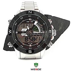 WEIDE 1104 bílo-černé, pánské hodinky pro denní nošení